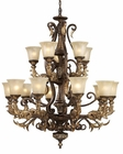 ELK 15 Light Chandelier Regency EK-2166