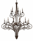 ELK 18 Light Chandelier Gloucester EK-15044