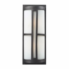ELK 2- Light Outdoor Sconce in Graphite EK-42396-2