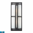 ELK 2- Light Outdoor Sconce in Graphite - Led EK-42396-2-LED