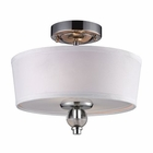 ELK 2- Light Semi-Flush in Polished Chrome EK-31284-2
