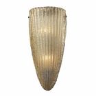 ELK 2- Light Wall Sconce in Aged Bronze EK-10280-2