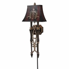 ELK 2- Light Wall Sconce in Dark Rust EK-26000-2