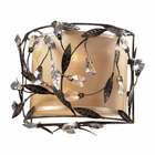 ELK 2- Light Wall Sconce in Deep Rust EK-18130-2