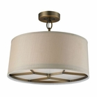 ELK 3- Light Pendant in Brushed Antique Brass EK-31262-3