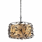 ELK 3- Light Pendant in Deep Rust EK-18132-3