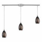 ELK 3- Light Pendant in Satin Nickel EK-31133-3L-ASH