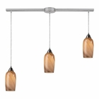 ELK 3- Light Pendant in Satin Nickel EK-31137-3L