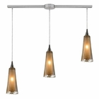 ELK 3- Light Pendant in Satin Nickel EK-31148-3L