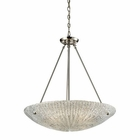 ELK 4- Light Pendant in Satin Nickel EK-10272-4
