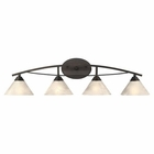 ELK 4 Light Vanity in Oil Rubbed Bronze EK-17643-4