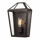 ELK Alanna Collection 1 Light Sconce in Oil Rubbed Bronze EK-31505-1