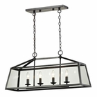 ELK Alanna Collection 4 Light Pendant in Oil Rubbed Bronze EK-31508-4