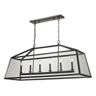 ELK Alanna Collection 6 Light Pendant in Oil Rubbed Bronze EK-31509-6