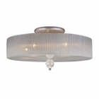 ELK Alexis 5-Light Semi Flush  in Antique Silver EK-20006-5