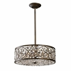 ELK Amherst 6-Light Pendant in Antique Bronze EK-11287-6