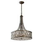 ELK Amherst 6-Light Pendant in Antique Bronze EK-11288-6