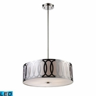 ELK Anastasia 5-Light Pendant in Polished Nickel - Led EK-10174-5-LED
