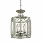 ELK Aubree 3 Light Pendant in Polished Nickel EK-31504-3