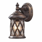 ELK Barrington Gate 1-Light Outdoor Sconce in Hazelnut Bronze EK-42036-1