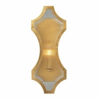 ELK Benicia Collection 1 Light Sconce in Antique Gold Leaf EK-31465-1