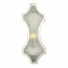 ELK Benicia Collection 1 Light Sconce in Polished Nickel EK-31455-1