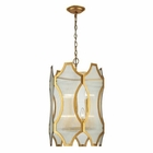 ELK Benicia Collection 3+3 Light Pendant in Antique Gold Leaf EK-31467-3-3
