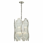 ELK Benicia Collection 3+3 Light Pendant in Polished Nickel EK-31457-3-3