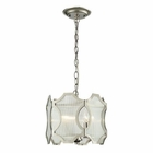 ELK Benicia Collection 3 Light Pendant in Polished Nickel EK-31456-3