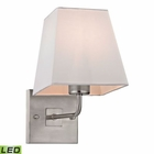 ELK Beverly Collection 1 Light Sconce in Brushed Nickel - Led EK-17152-1-LED
