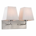 ELK Beverly Collection 2 Light Sconce in Brushed Nickel EK-17161-2