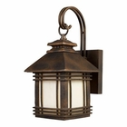 ELK Blackwell 1-Light Outdoor Sconce in Hazelnut Bronze EK-42105-1