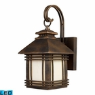 ELK Blackwell 1-Light Outdoor Sconce in Hazelnut Bronze - Led EK-42105-1-LED