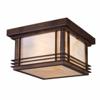 ELK Blackwell 2-Light Outdoor Flush Mount in Hazelnut Bronze EK-42106-2