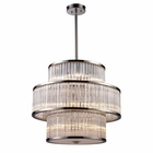 ELK Braxton 15-Light Pendant in Polished Nickel EK-10130-5-5-5
