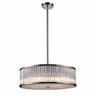 ELK Braxton 5-Light Pendant in Polished Nickel EK-10129-5