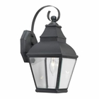 ELK Bristol Solid Brass Outdoor Wall Lantern in Charcoal EK-5214-C