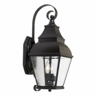 ELK Bristol Solid Brass Outdoor Wall Lantern in Charcoal EK-5215-C