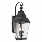 ELK Bristol Solid Brass Outdoor Wall Lantern in Charcoal EK-5216-C