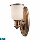 ELK Brooksdale 1-Light Sconce in Antique Copper - Led EK-66180-1-LED