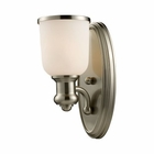ELK Brooksdale 1-Light Sconce in Satin Nickel EK-66160-1