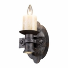 ELK Cambridge 1+1 Light Sconce in Moonlit Rust EK-14000-1-1