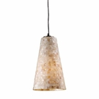 ELK Capri 1-Light Pendant in Satin Nickel EK-10142-1