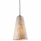 ELK Capri 1-Light Pendant in Satin Nickel - Led EK-10142-1-LED