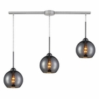 ELK Cassandra 3 Light Pendant in Polished Chrome EK-10240-3L-CHR