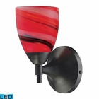 ELK Celina 1-Light Sconce in Dark Rust With Candy Glass - Led EK-10150-1DR-CY-LED