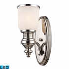 ELK Chadwick 1-Light Sconce in Polished Nickel - Led EK-66110-1-LED