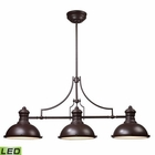 ELK Chadwick 3-Light Billiard/Island Light in - Led EK-66135-3-LED
