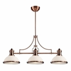ELK Chadwick 3-Light Island Light in Antique Copper EK-66245-3