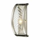 ELK Chandler Collection 1 Light Sconce in Polished Nickel EK-31460-1